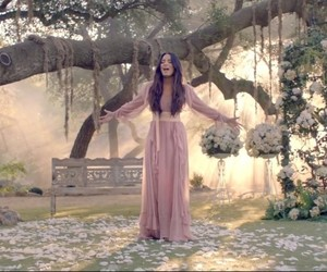 demi lovato, music video, and pink dress image