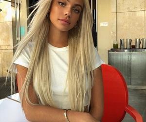 kelsey calemine, blonde, and fatherkels image
