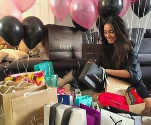 balloons, gucci, and chanel image