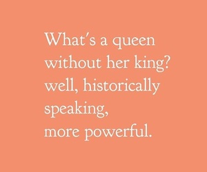 feminism, happy, and king image