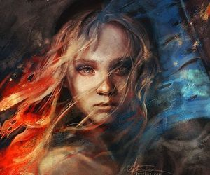 art, les miserables, and cosette image