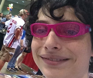 finn wolfhard, stranger things, and funny image