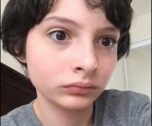 stranger things, finn wolfhard, and meme image