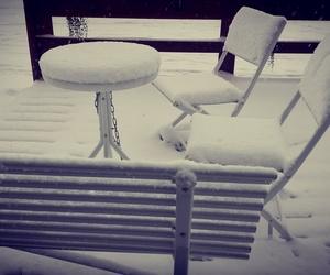 november, winter, and snow image