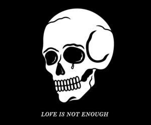 love, black, and quotes image