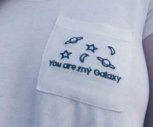 galaxy, grunge, and white image