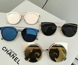 fashion, sunglasses, and chanel image