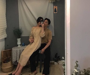 asian, aesthetic, and couple image