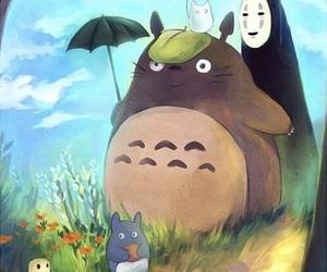 ghibli, My Neighbor Totoro, and studio ghibli image