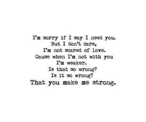 strong, one direction, and Lyrics image