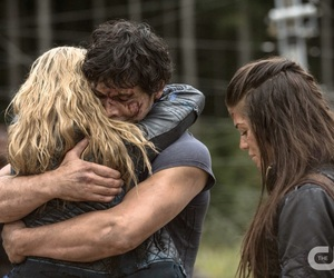 the 100, bellamy, and clarke image