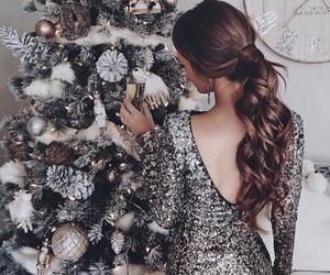 christmas, girl, and article image