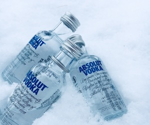 18, winter, and absolut vodka image