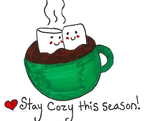 cozy, winter, and chocolate image