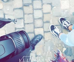 camera, shoes, and kamera image