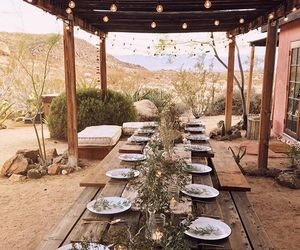 desert, dinner party, and dining image