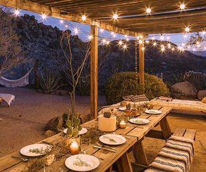 desert, dining, and dinner image