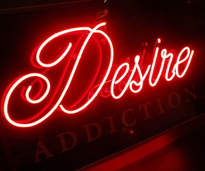 desire, neon, and tumblr image