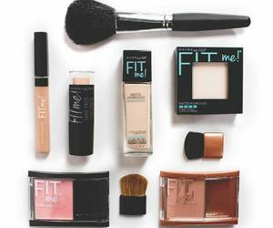 makeup, beauty, and Maybelline image