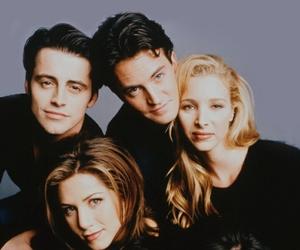 friends, Jennifer Aniston, and chandler bing image