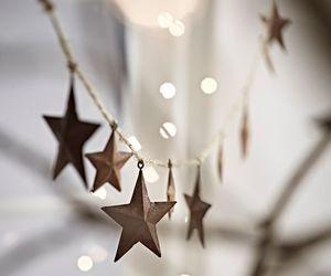 christmas, stars, and lights image