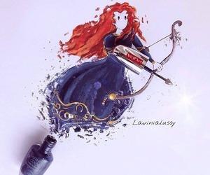 art, disney, and princess image