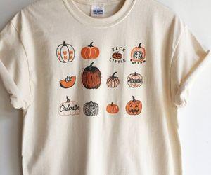 autumn, pumpkins, and tshirt image
