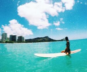 beach, hawaii, and pretty image