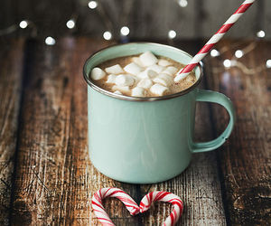 chocolate, christmas, and marshmallow image