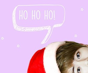 jin, bts, and christmas image