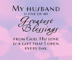 husband, love, and blessing image
