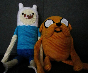 amigurumi, finn, and adventure time image