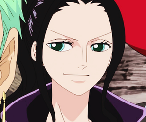 anime, one piece, and nico robin image