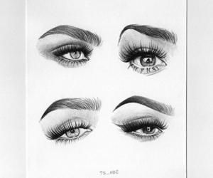 blanco, dibujo, and negro image