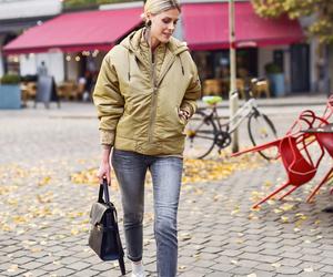 fashion, chic, and coat image