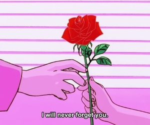 anime, rose, and quotes image