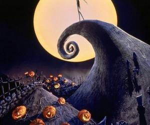 Halloween, tim burton, and the nightmare before christmas image