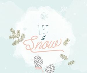 wallpaper, snow, and winter image