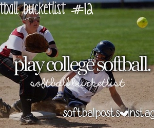 ball, bats, and college image
