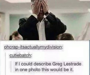 funny and lestrade image