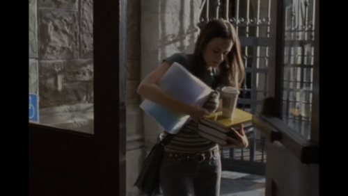 college and gilmore girls image