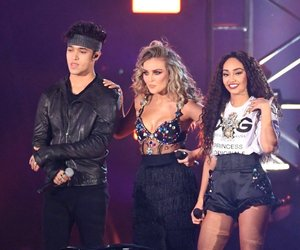 perrie edwards, leigh anne pinnock, and lerrie image