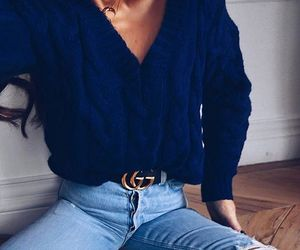 blue, inspirations, and jeans image