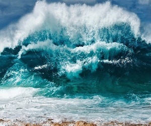 waves, white wash, and north shore image