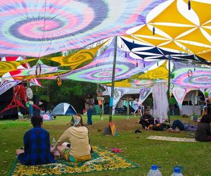 party, peaceandlove, and psytrance image