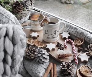 christmas, cozy, and jul image