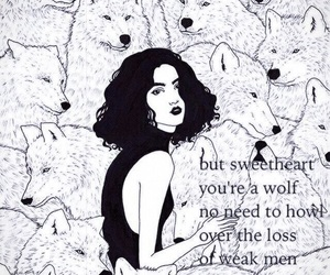 girl, poetic, and Powerful image