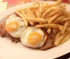 eggs, food, and fries image