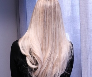beauty, blonde, and thickhair image