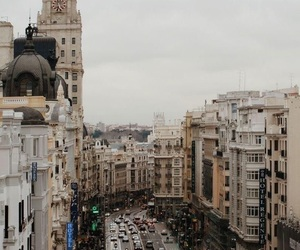 travel, city, and madrid image